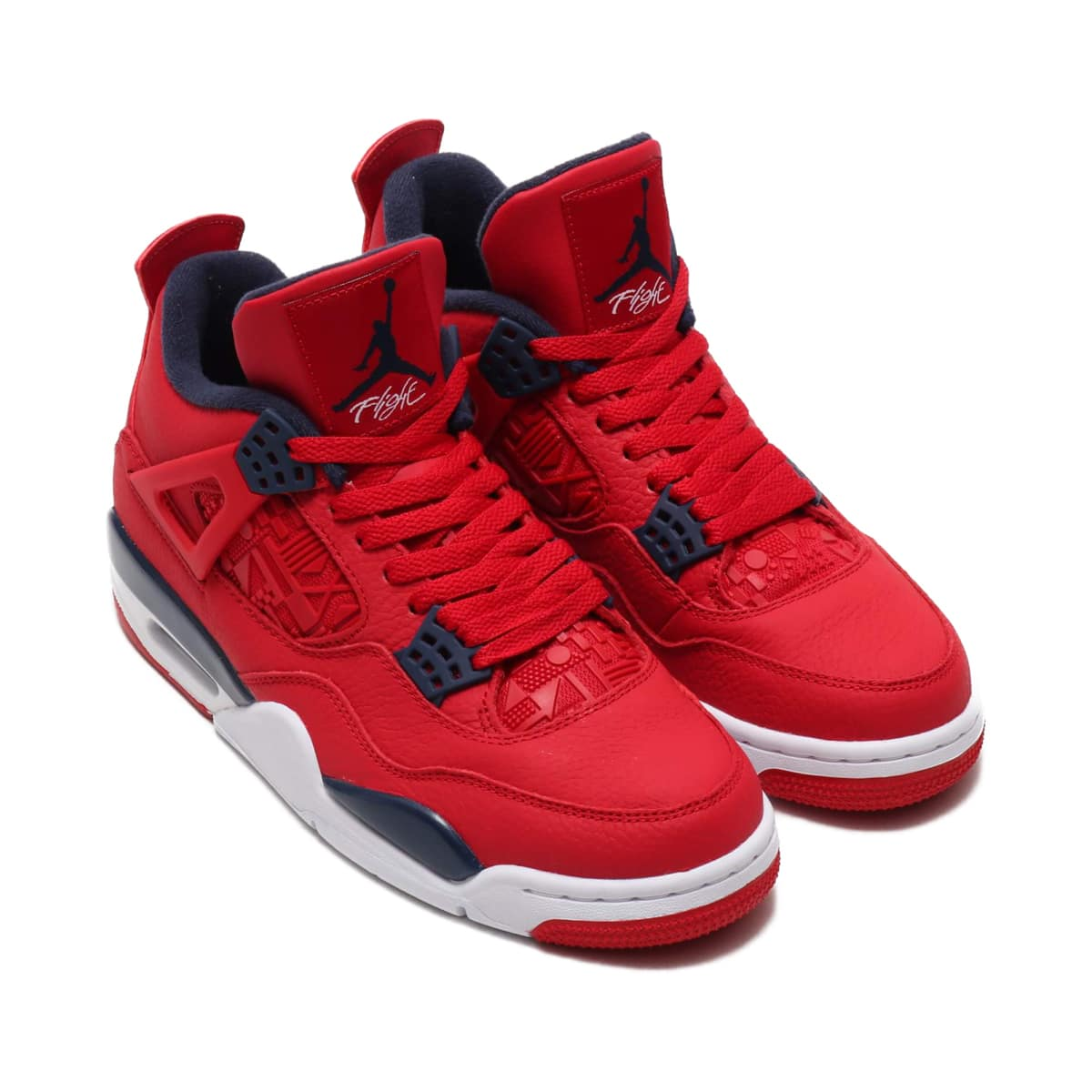 NIKE AIR JORDAN 4 RETRO SE GYM RED/OBSIDIAN-WHITE-METALLIC GOLD 19FA-S_photo_large