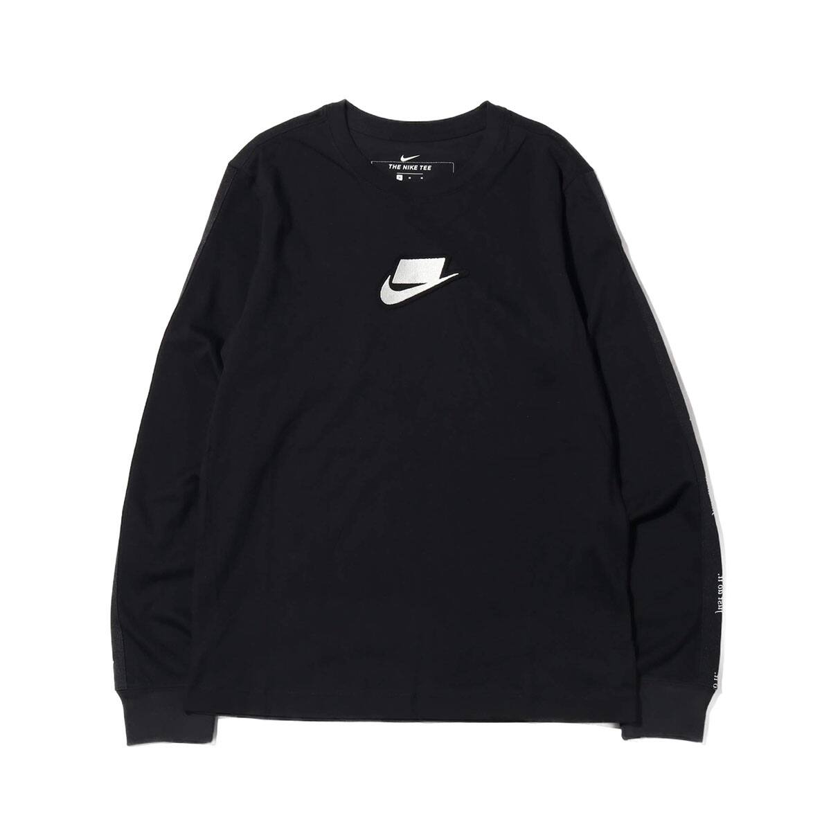 NIKE AS M NSW LS TEE NSW 2 BLACK 19HO-S_photo_large