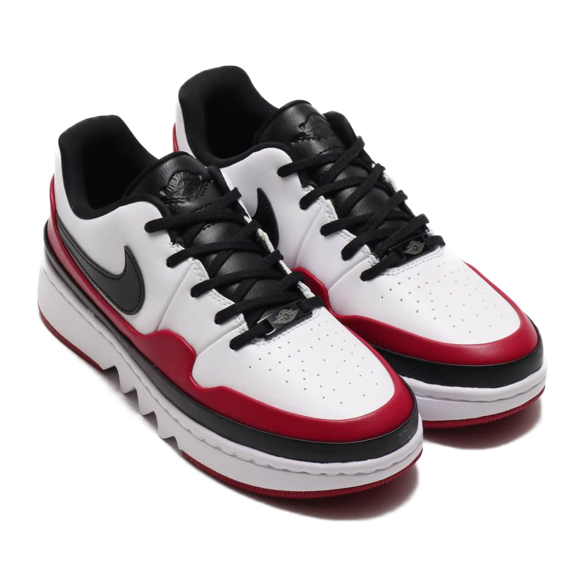 NIKE WMNS AJ 1 JESTER XX LOW LACED WHITE/BLACK-NOBLE RED 20SP-S_photo_large