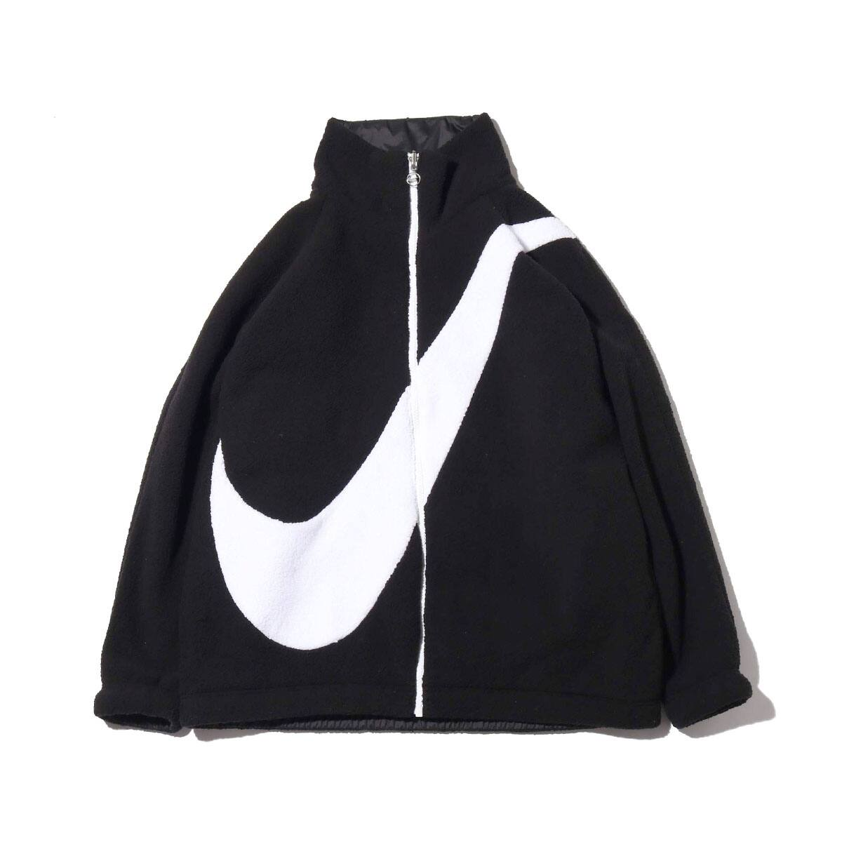 NIKE AS W NSW SWSH JKT REV SHERPA BLACK/WHITE 19HO-S_photo_large