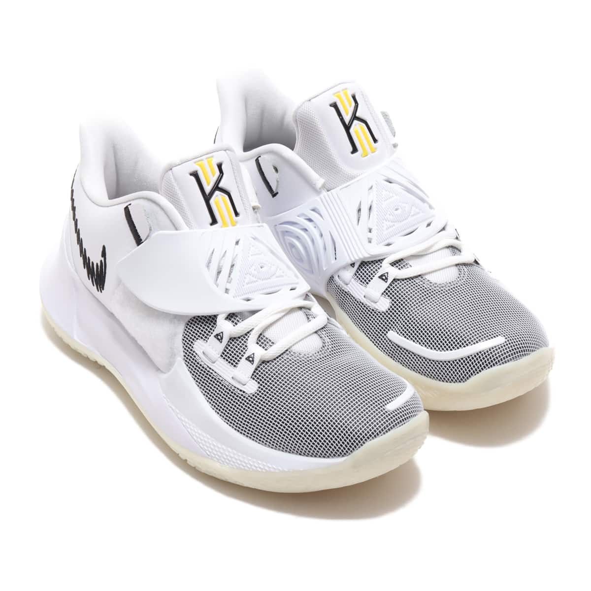 NIKE KYRIE LOW 3 EP WHITE/BLACK 20FA-I_photo_large