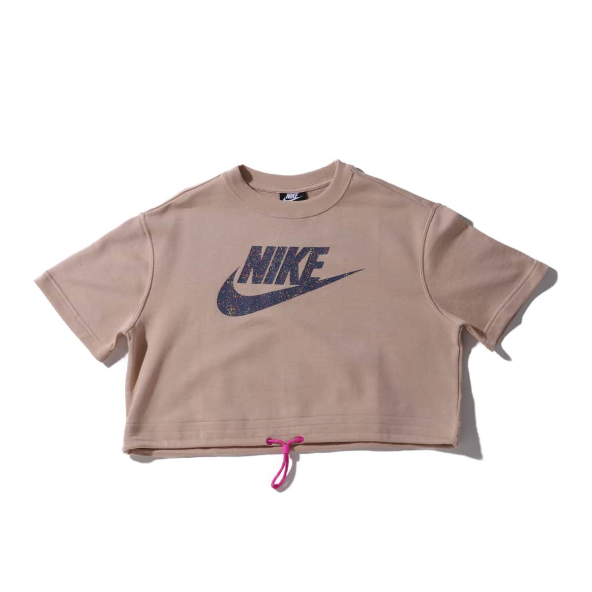 NIKE AS W NSW ICN CLSH TOP SS FT SHIMMER/FIRE PINK 20SU-I_photo_large