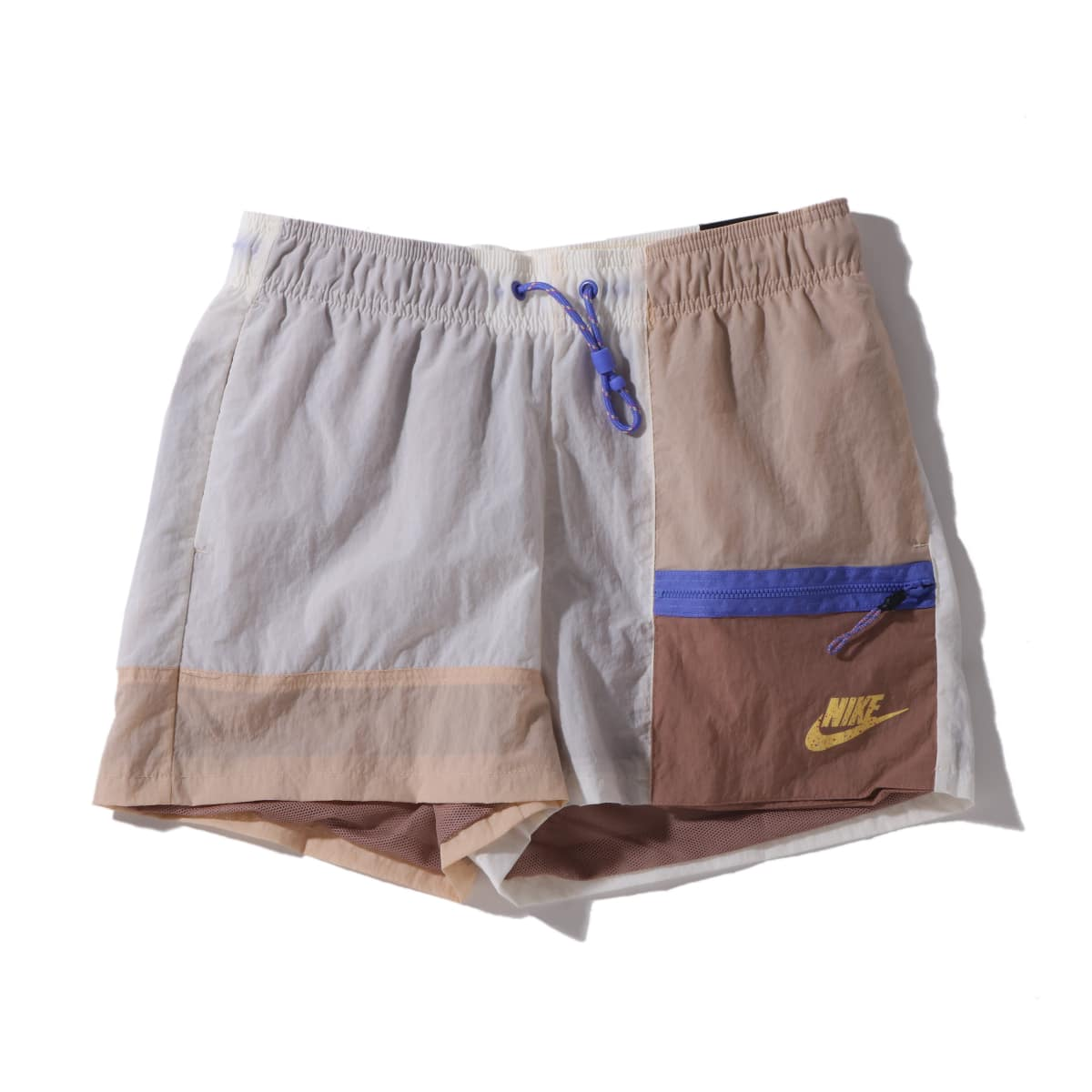 NIKE AS W NSW ICN CLSH SHORT PALE IVORY/SHIMMER/DESERT DUST 20SU-I_photo_large