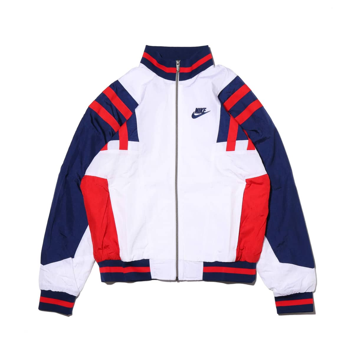 NIKE AS M NSW RE-ISSUE JKT WVN WHITE/BLUE VOID/UNIVERSITY RED/BLUE VOID 20SP-S_photo_large