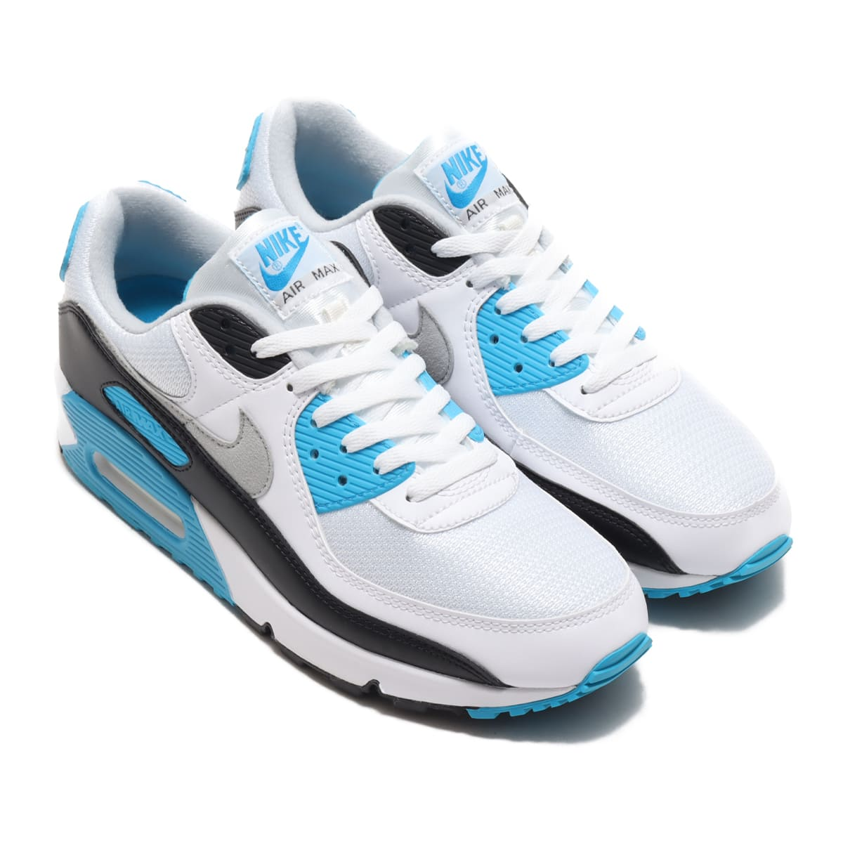 NIKE AIR MAX III WHITE/BLACK-GREY FOG-LASER BLUE 20FA-I_photo_large