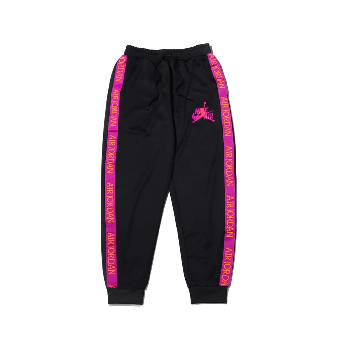 NIKE M J JM CLSC TRICOT WARMUP PANT BLACK/VIVID PURPLE 19HO-I_photo_large