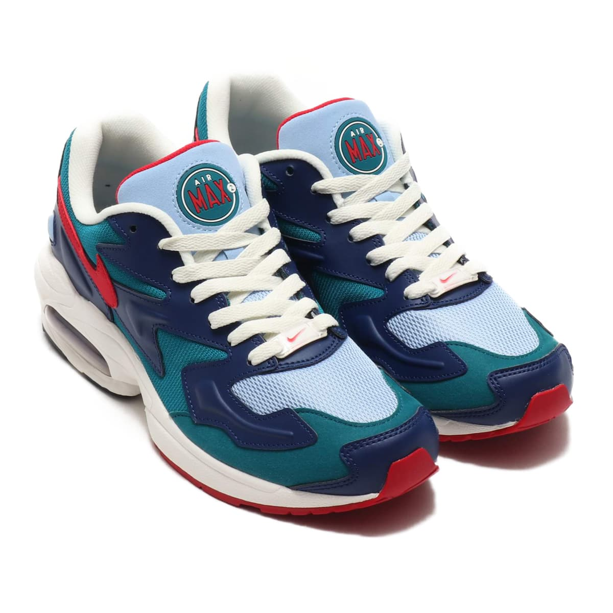 NIKE AIR MAX2 LIGHT GEODE TEAL/GYM RED-SAIL-BLUE VOID 19FA-S_photo_large