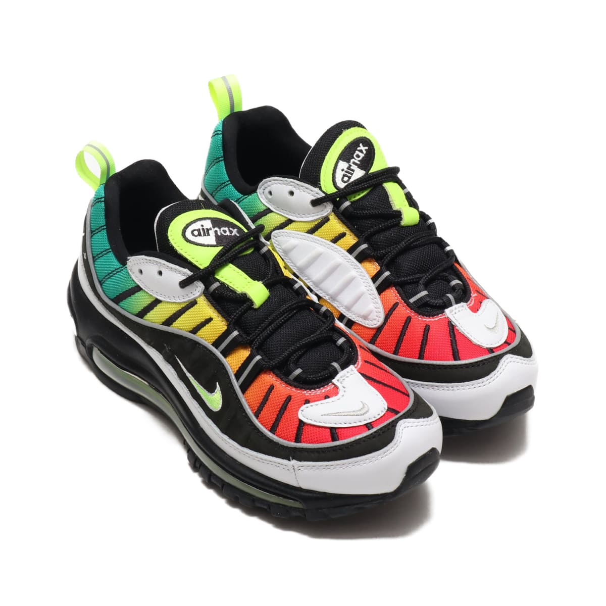 NIKE W AIR MAX 98 NXN BLACK/VOLT-WHITE-DYNAMIC YELLOW 19HO-S_photo_large