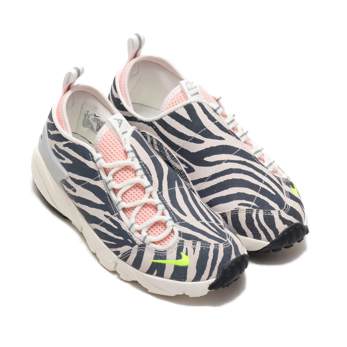 NIKE W AIR FOOTSCAPE NXN SUMMIT WHITE/VOLT-BLEACHED CORAL-BLACK 19HO-S_photo_large