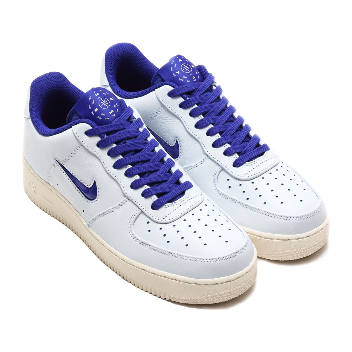 NIKE AIR FORCE 1 '07 PRM WHITE/CONCORD-SAIL-UNIVERSITY RED 20SU-S_photo_large