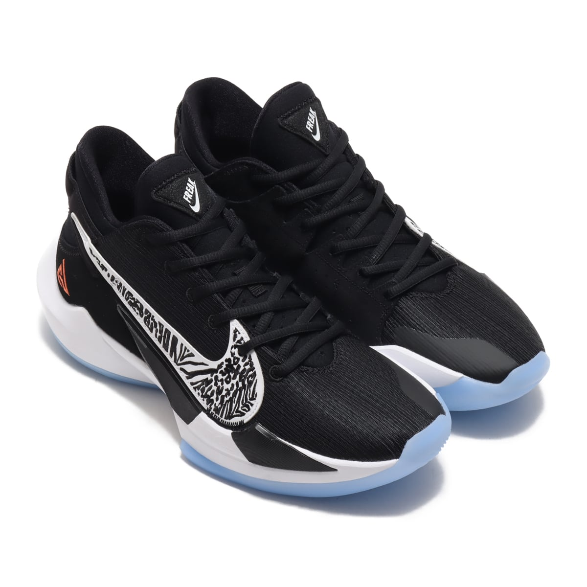 NIKE ZOOM FREAK 2 BLACK/WHITE-OFF NOIR-SOLAR FLARE 20FA-I_photo_large