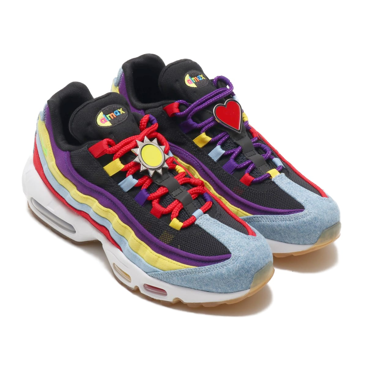NIKE AIR MAX 95 SP PSYCHIC BLUE/CHROME YELLOW-WHITE 19FA-S_photo_large