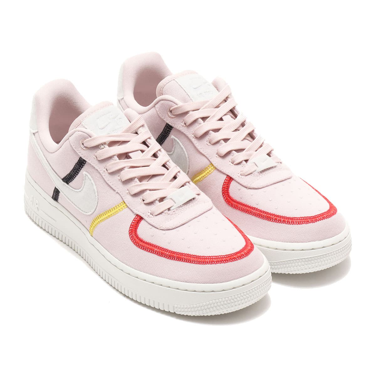 NIKE WMNS AIR FORCE 1 '07 LX SILT RED/PHOTON DUST-BRIGHT CITRON 20FA-I_photo_large