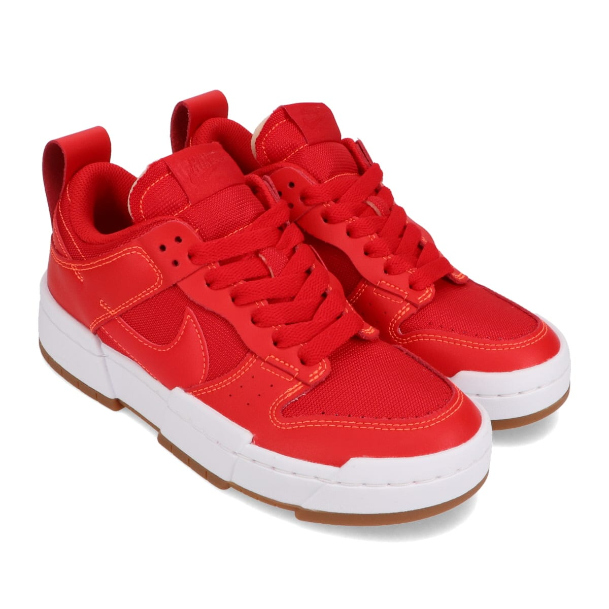 NIKE W DUNK LOW DISRUPT UNIVERSITY RED/UNIVERSITY RED 20HO-I_photo_large