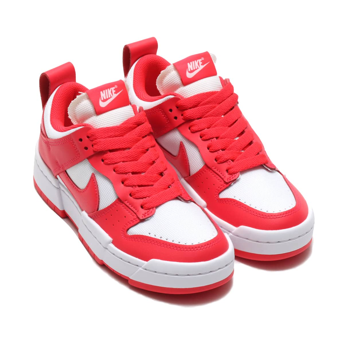 NIKE W DUNK LOW DISRUPT SIREN RED/SIREN RED-WHITE 21SP-I_photo_large
