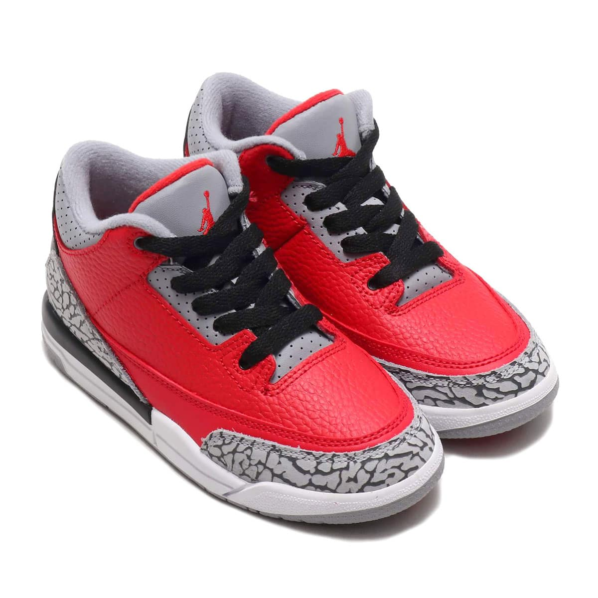 JORDAN BRAND JORDAN 3 RETRO SE PS FIRE RED/FIRE RED-CEMENT GREY-BLACK 20SP-S_photo_large