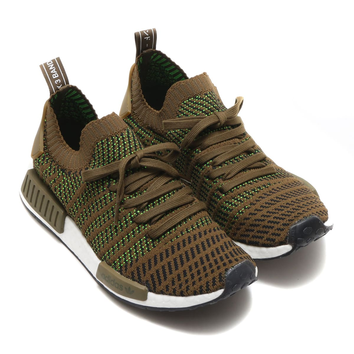 adidas Originals NMD_R1 STLT PK  Trace?Olive/Core Black/Solar Slime_photo_large