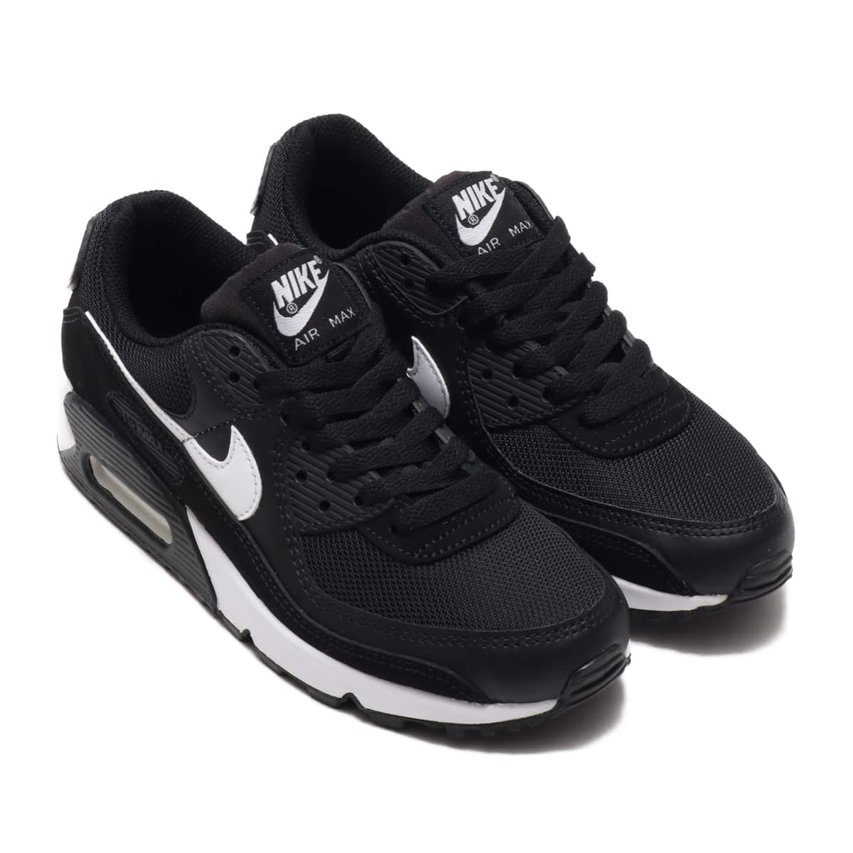 NIKE W AIR MAX 90 BLACK/WHITE-BLACK 21SU-S_photo_large