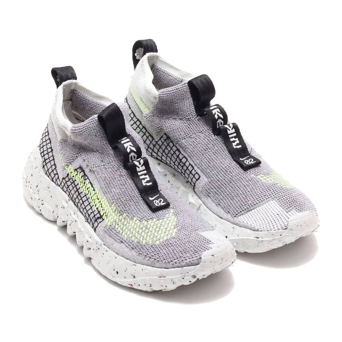 NIKE SPACE HIPPIE 02 GREY/VOLT GLOW-PHOTON DUST 20FA-S_photo_large