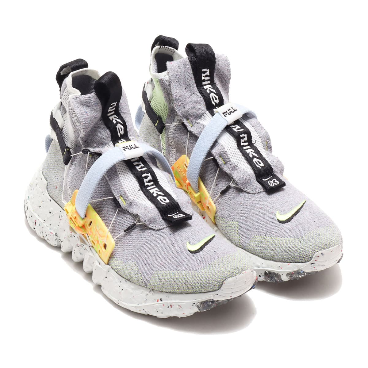 NIKE SPACE HIPPIE 03 GREY/VOLT GLOW-PHOTON DUST 20FA-S_photo_large