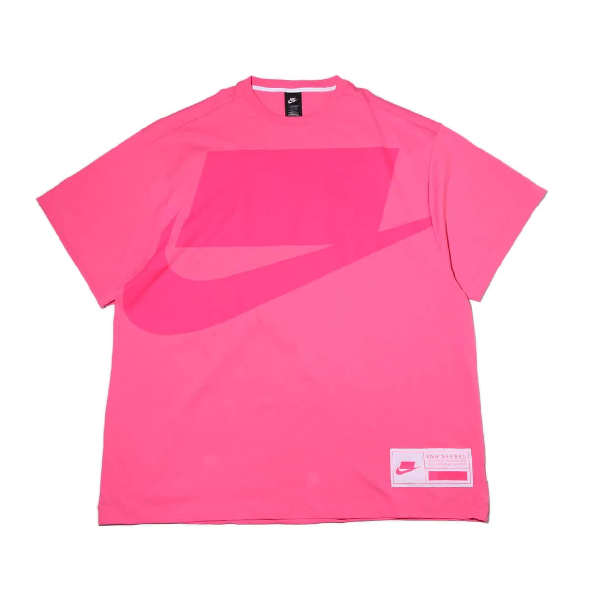 NIKE AS W NSW NSW DRESS SS OVERSIZE PINKSICLE/WHITE/HYPER PINK 20SP-S_photo_large