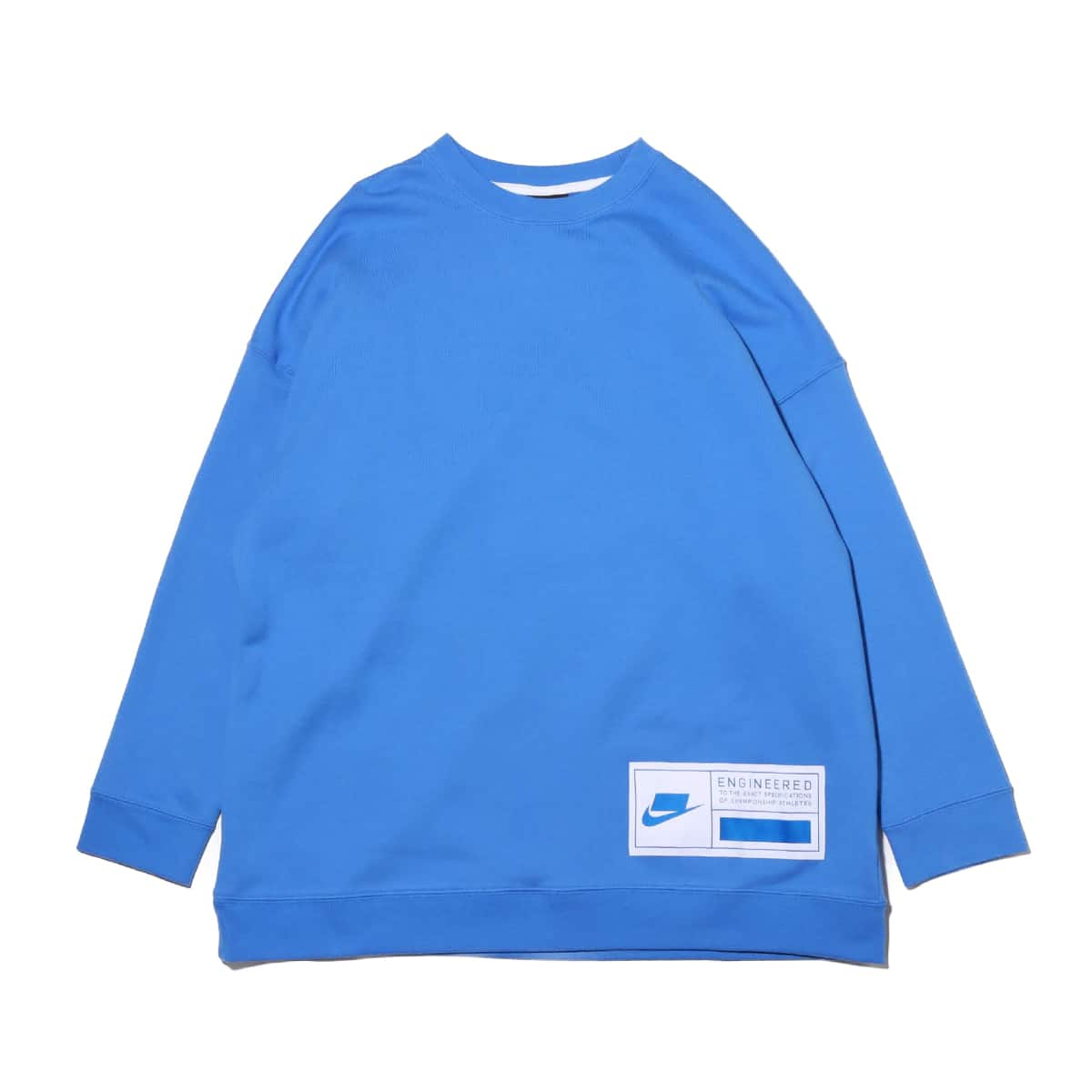 NIKE AS W NSW NSW FLC CREW OVERSIZE PACIFIC BLUE/WHITE/SOAR 20SP-S_photo_large