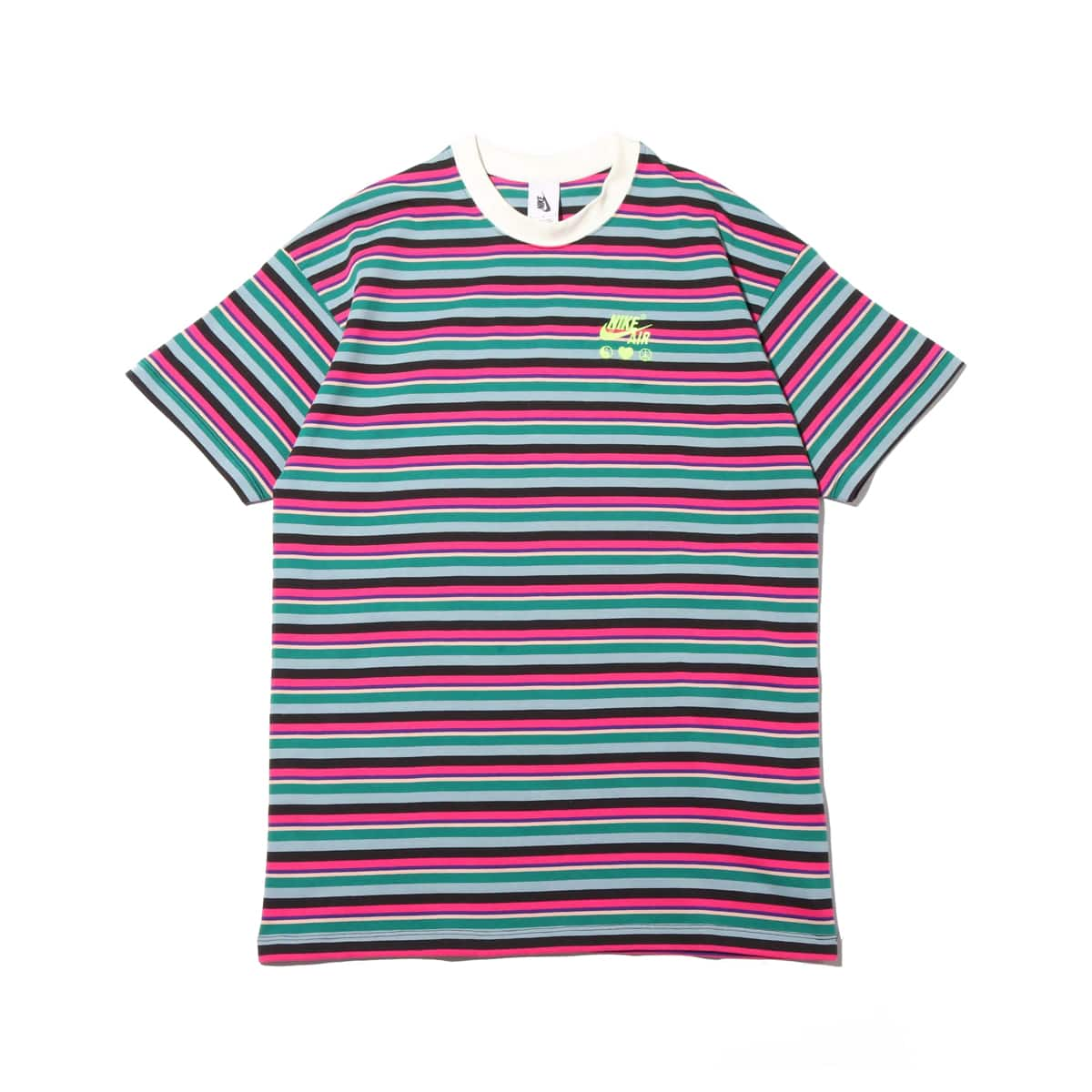 NIKE W NRG NXN TEE STRIPE BRIGHT CERAMIC 19HO-S_photo_large