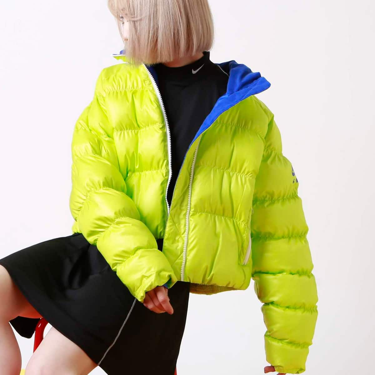 NIKE W NRG NXN SYNFILL PUFFER SHINE CYBER/GAME ROYAL 19HO-S_photo_large