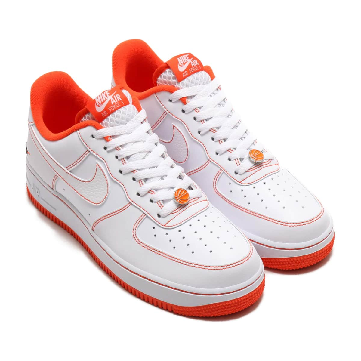 NIKE AIR FORCE 1 '07 LV8 EMB WHITE/TEAM ORANGE-BLACK 20SU-S_photo_large