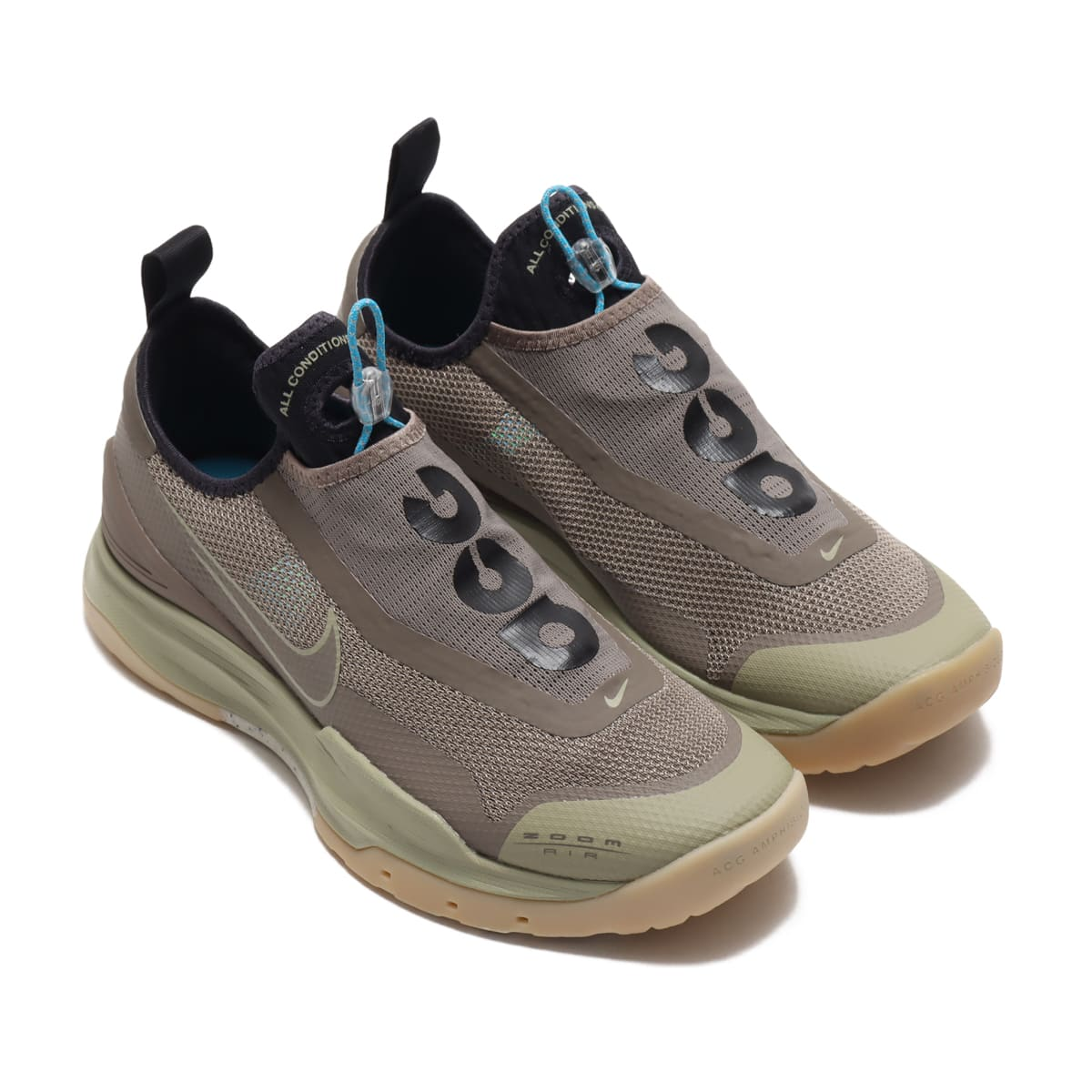NIKE ACG ZOOM AIR AO MEDIUM KHAKI/OLIVE GREY-LT CURRENT BLUE 20FA-I_photo_large