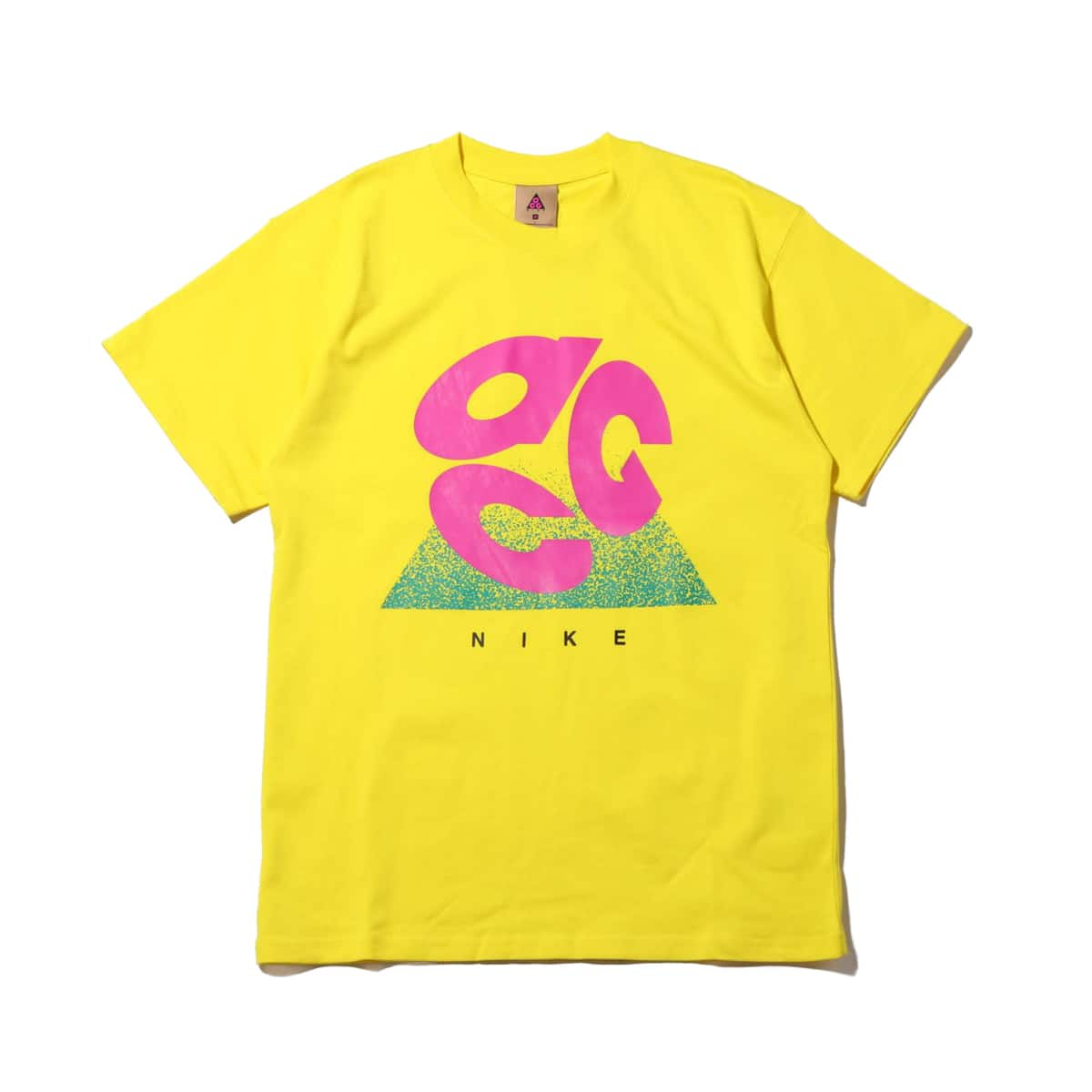 NIKE AS M NRG ACG SS TEE LOGO EVO OPTI YELLOW/ACTIVE FUCHSIA 20SP-S_photo_large
