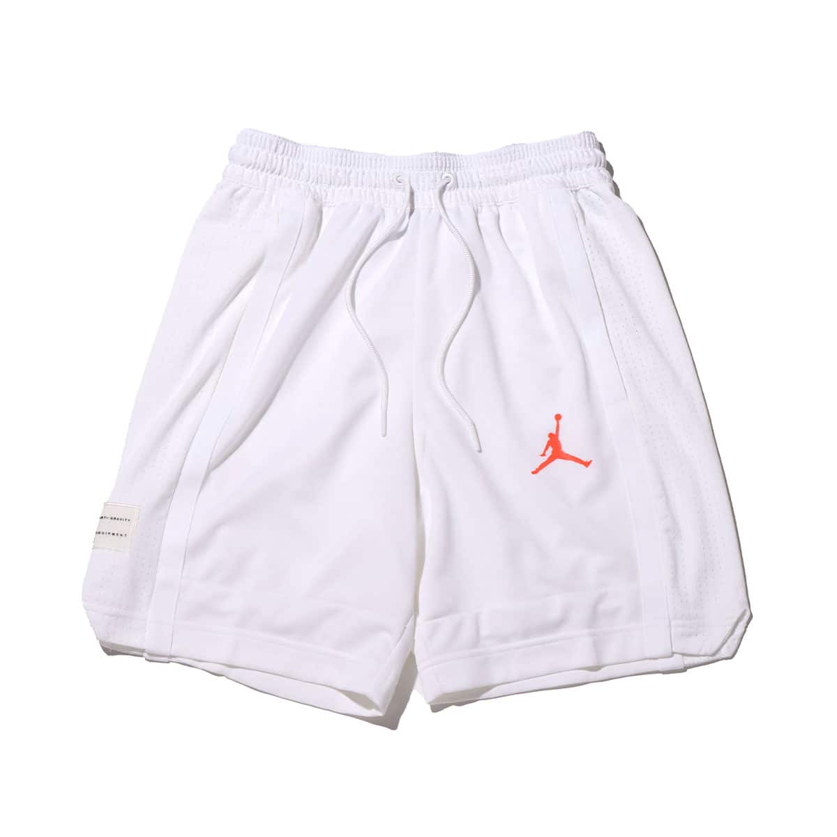 JORDAN BRAND AS M J AIR BBALL SHORT WHITE/WHITE/INFRARED 23 20FA-I_photo_large