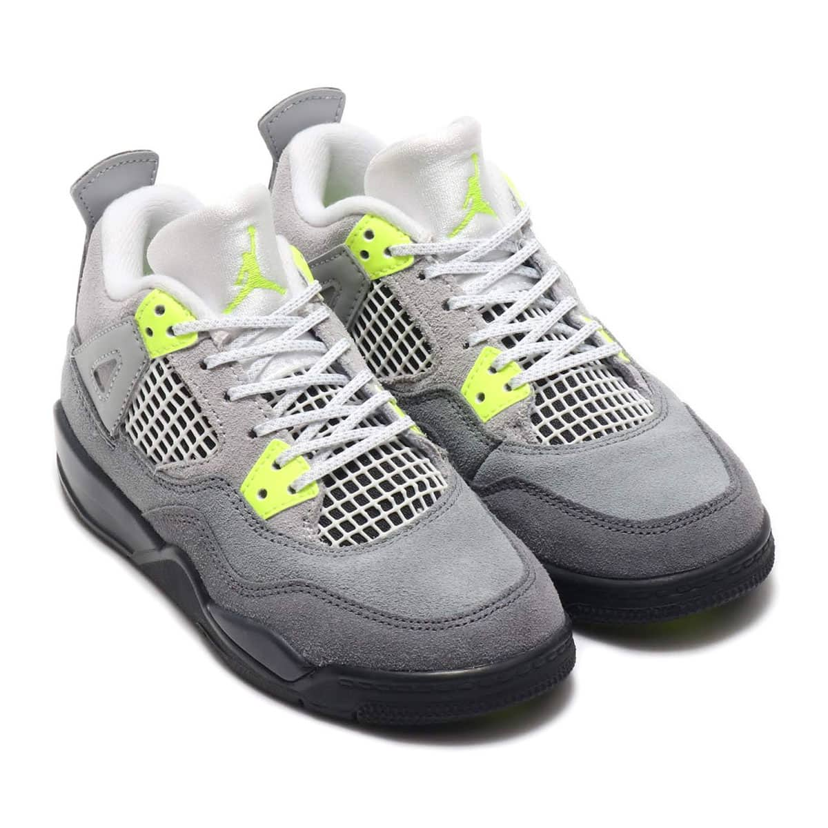 JORDAN BRAND JORDAN 4 RETRO SE PS COOL GREY/VOLT-WOLF GREY-ANTHRACITE 20SP-S_photo_large