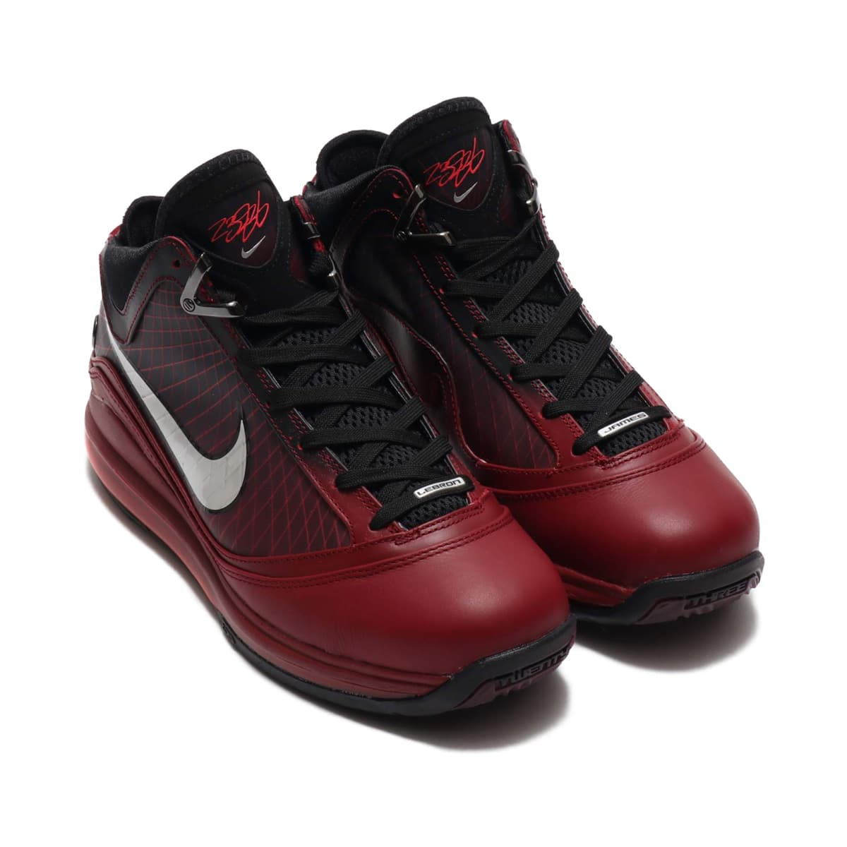 NIKE LEBRON VII QS TEAM RED/METALLIC SILVER-BLACK-HOT RED 19HO-S_photo_large