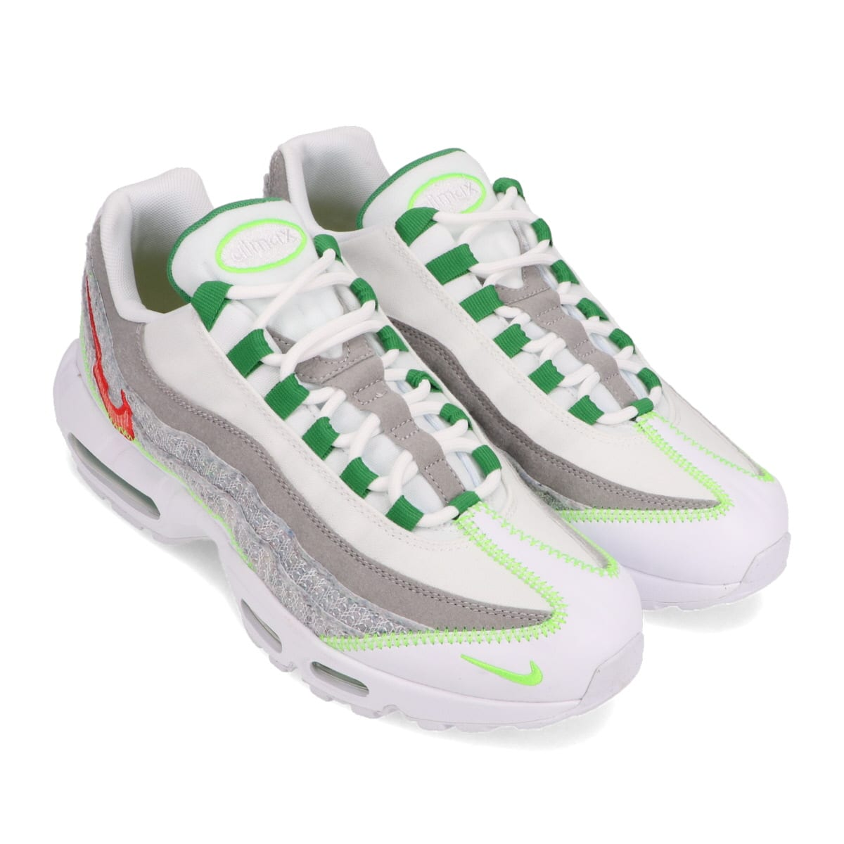 NIKE AIR MAX 95 WHITE/CLASSIC GREEN-ELECTRIC GREEN 20HO-I_photo_large