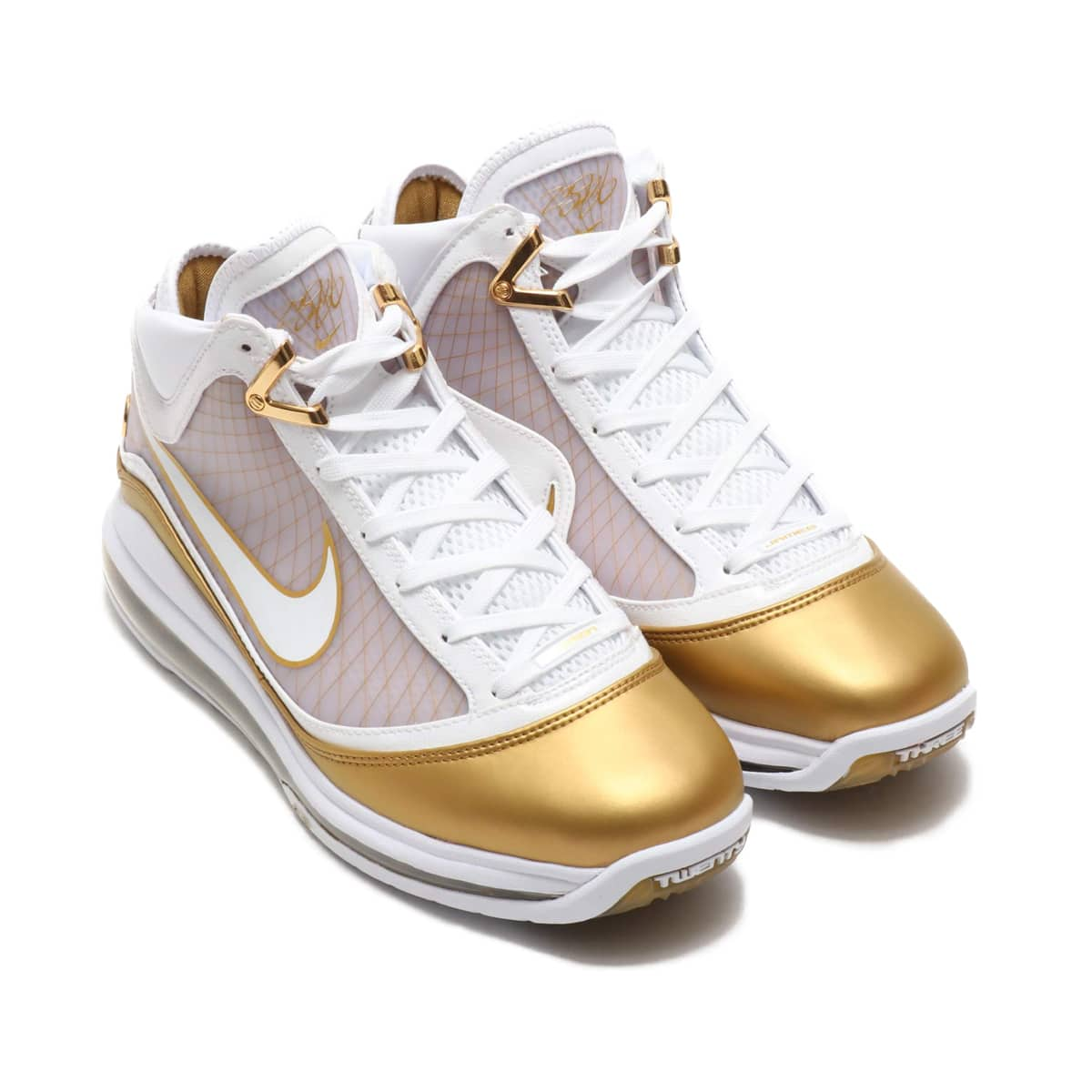 NIKE LEBRON VII QS WHITE/WHITE-METALLIC GOLD 20SP-S_photo_large