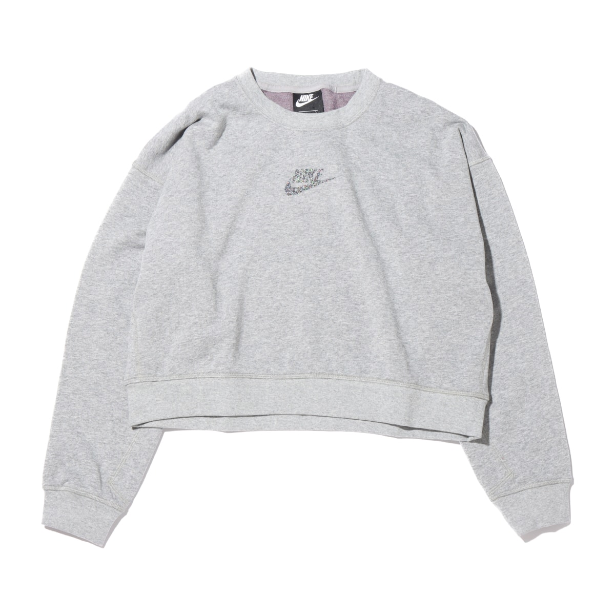 NIKE AS W NSW CREW FT M2Z DK GREY HEATHER/MULTI COLOR 20FA-I_photo_large