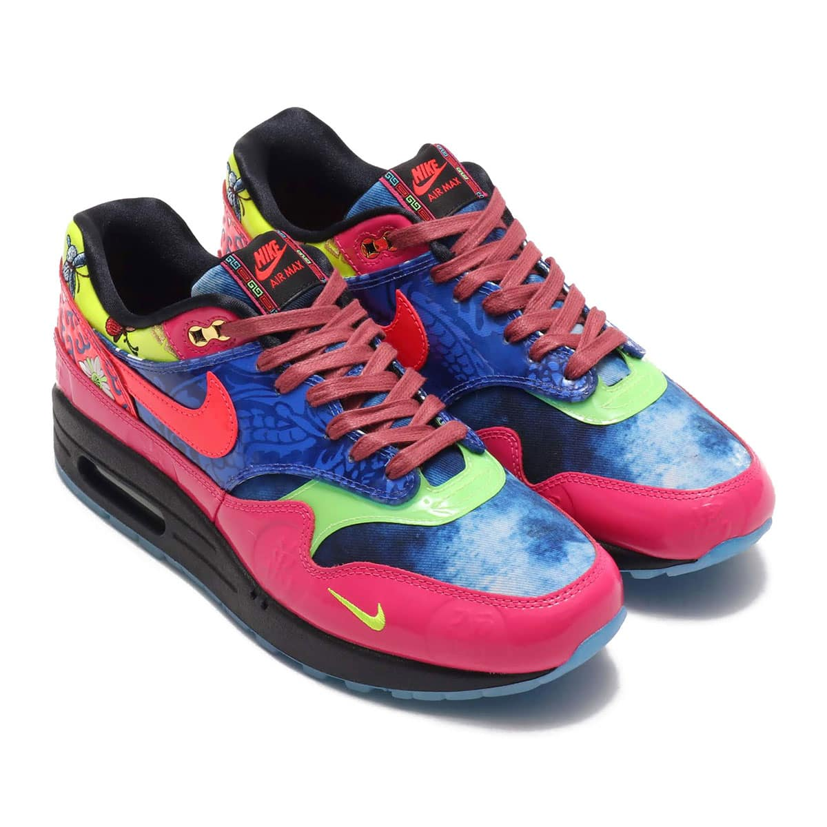 NIKE AIR MAX 1 PREMIUM GAME ROYAL/LASER CRIMSON-BLACK 20SP-S_photo_large
