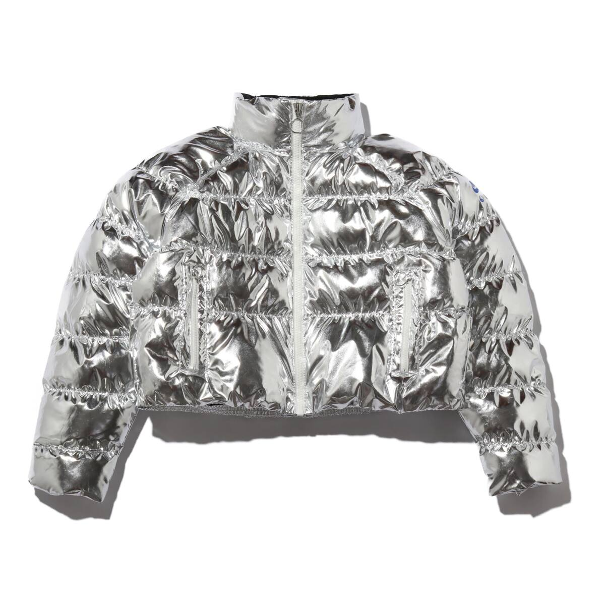 NIKE W NRG NXN SYN FILL PUFFER FOIL SILVER/OFF NOIR 19HO-S_photo_large