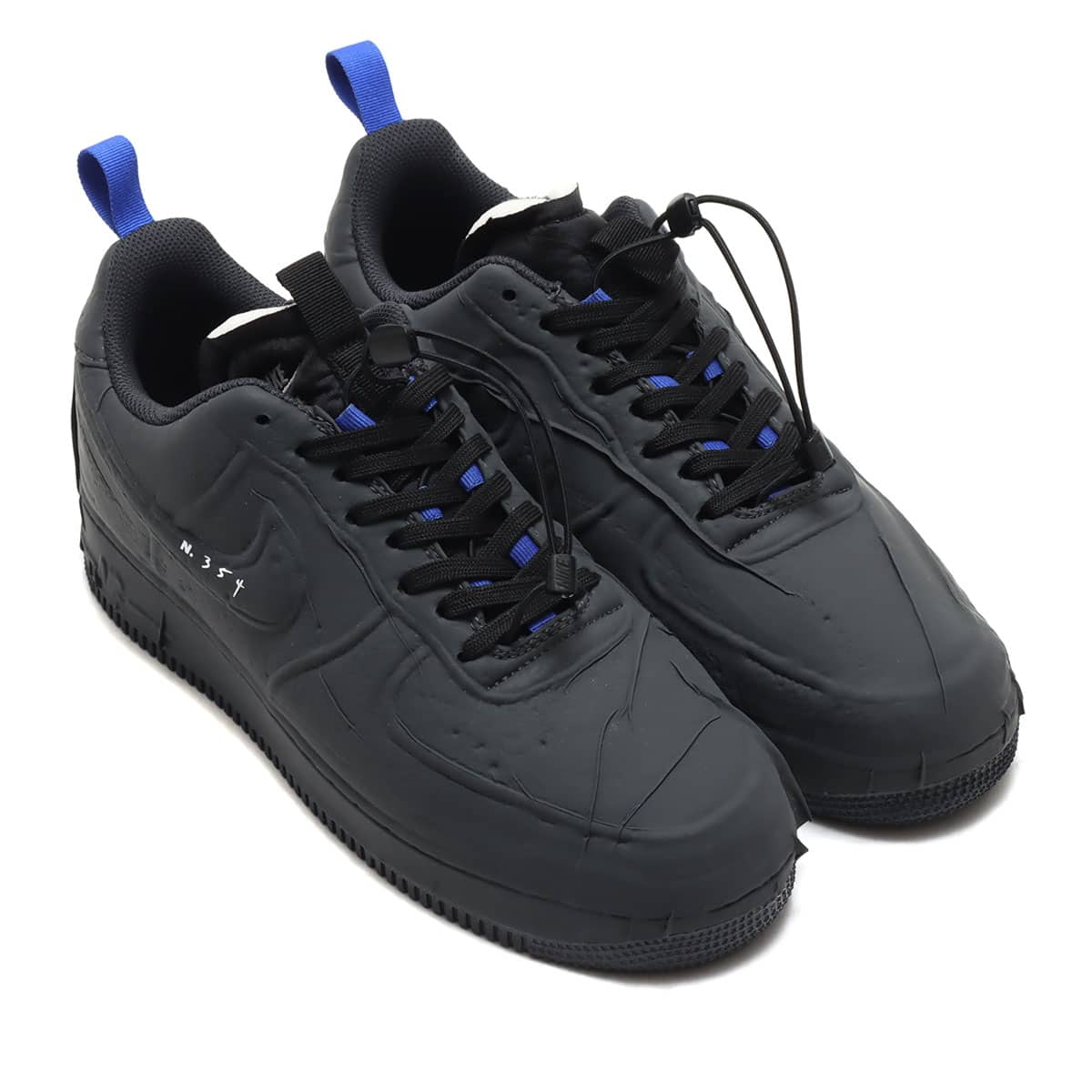 NIKE AIR FORCE 1 EXPERIMENTAL BLACK/ANTHRACITE-CHILE RED-HYPER ROYAL 21SP-I_photo_large