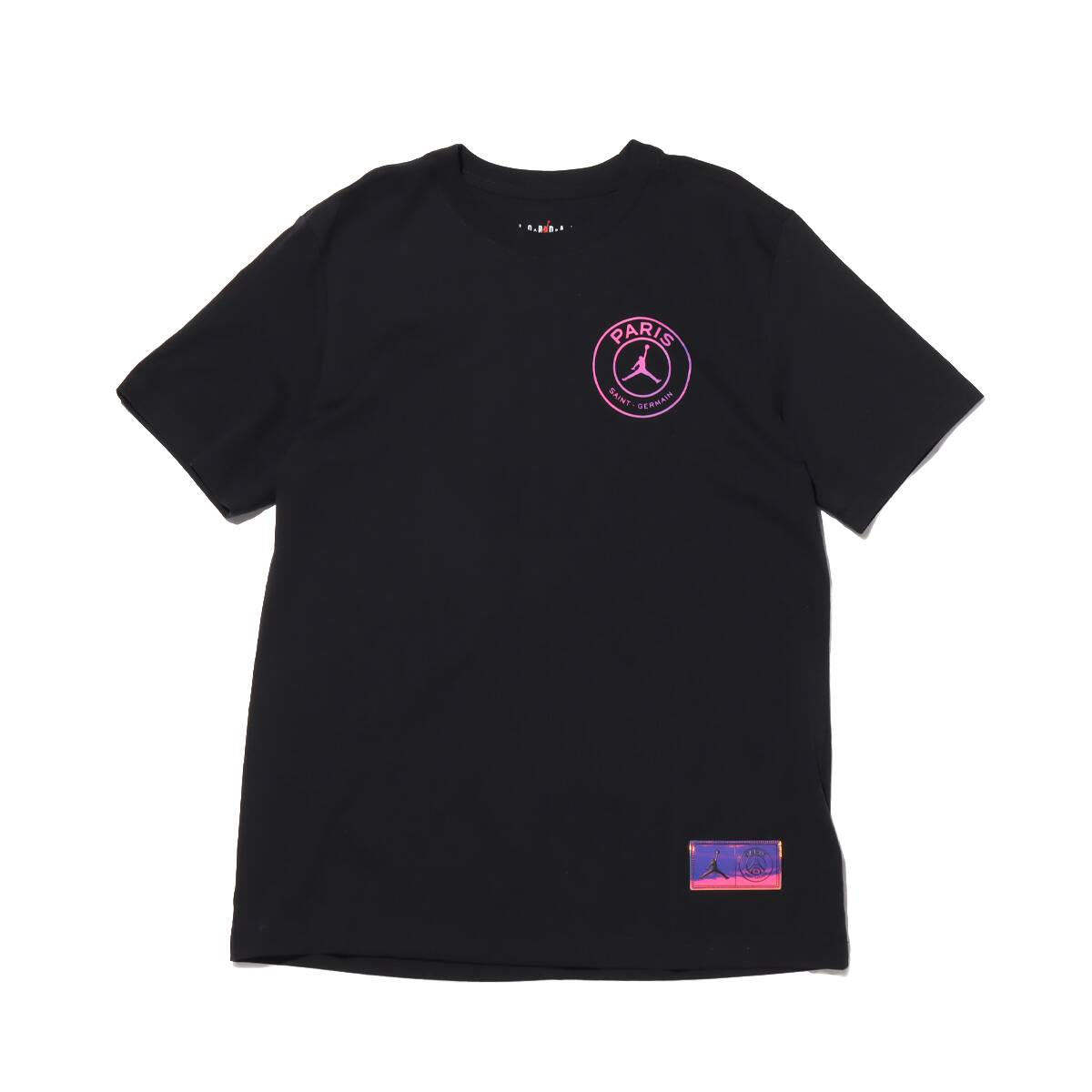 JORDAN BRAND AS M J PSG LOGO SS TEE BLACK 21SP-I_photo_large