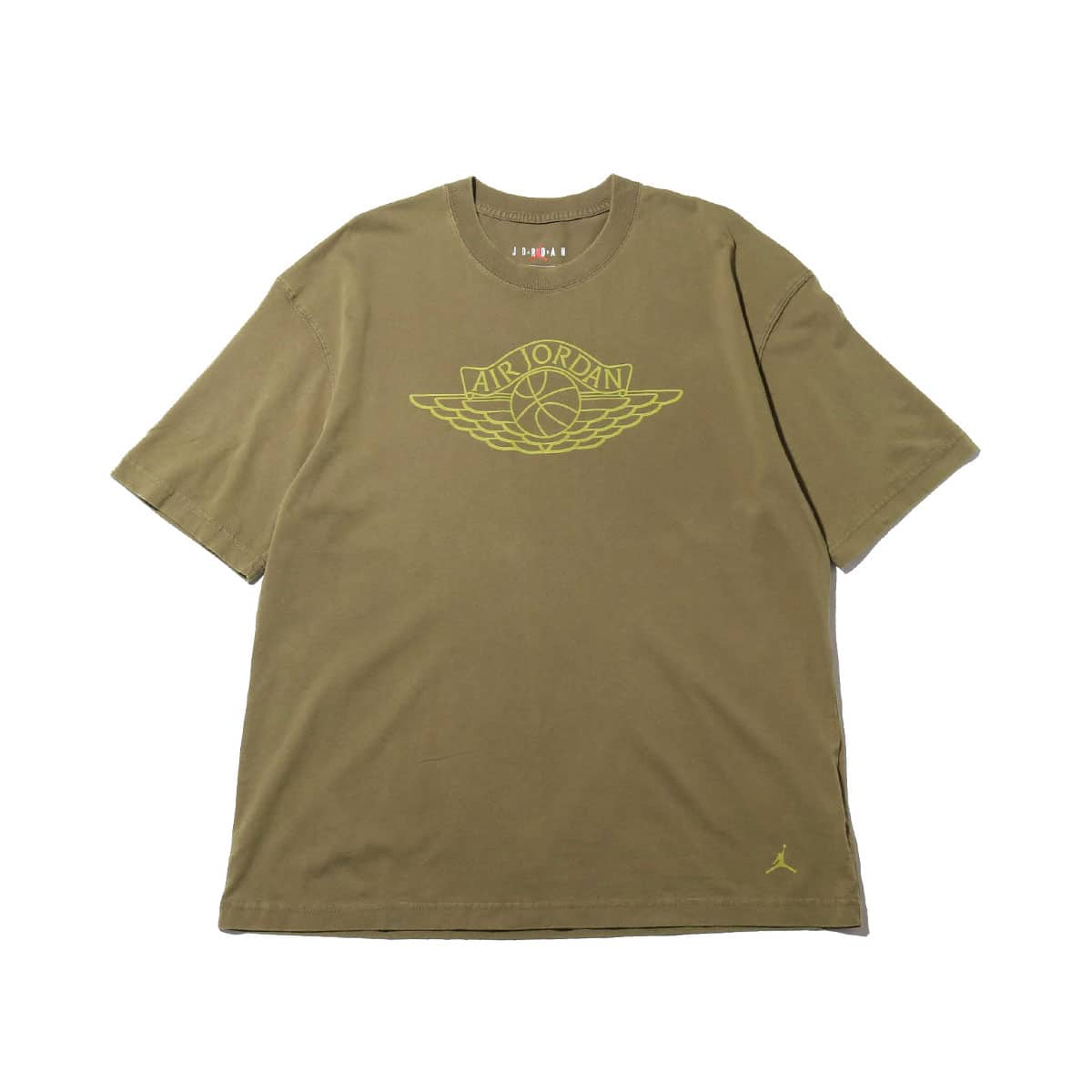 JORDAN BRAND AS W J SS OVERSIZE TEE MEDIUM OLIVE/CYBER 20SP-S_photo_large