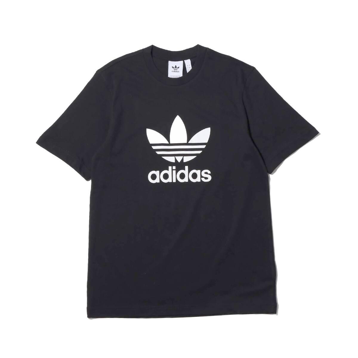 adidas Originals TREFOIL TEE Black 19SS-I_photo_large