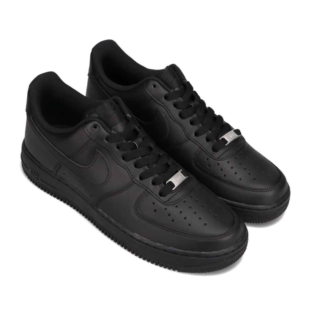 NIKE AIR FORCE 1 '07 BLACK/BLACK 21SU-I_photo_large