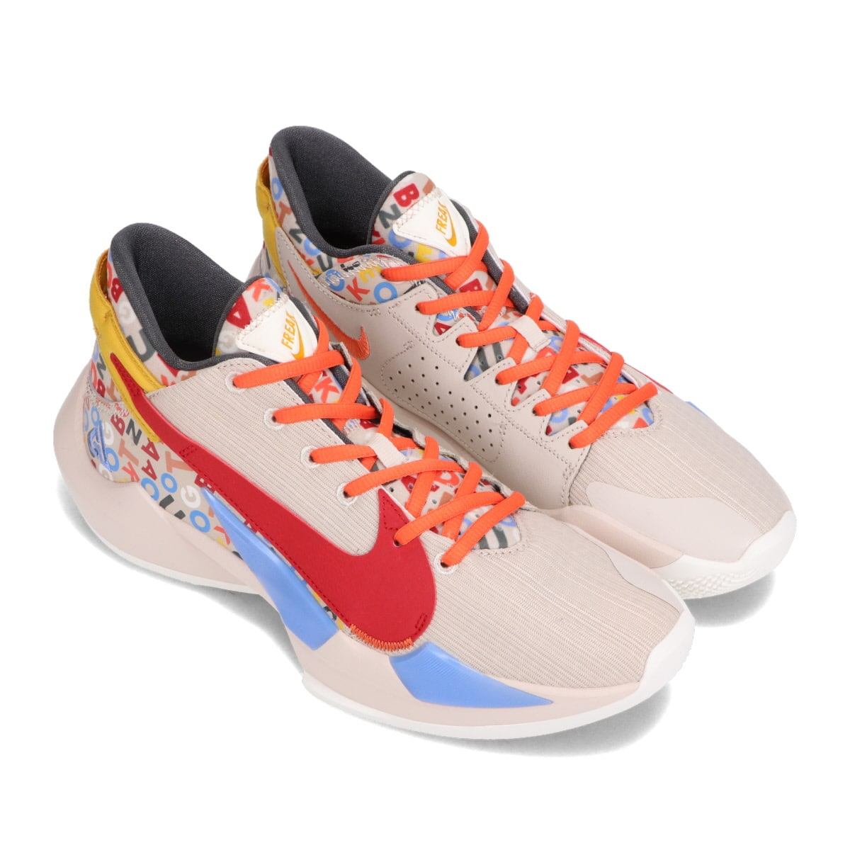NIKE ZOOM FREAK 2 DESERT SAND/GYM RED-SAIL-CAMELLIA 21SP-I_photo_large
