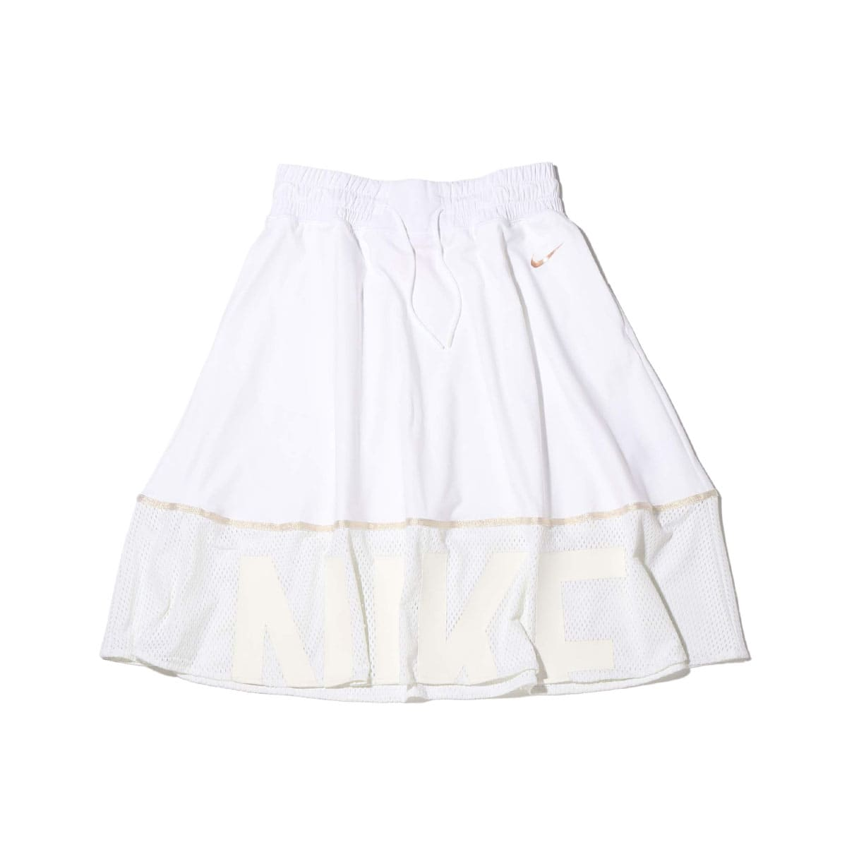 NIKE AS W MESH SKIRT WHITE 20SU-S_photo_large