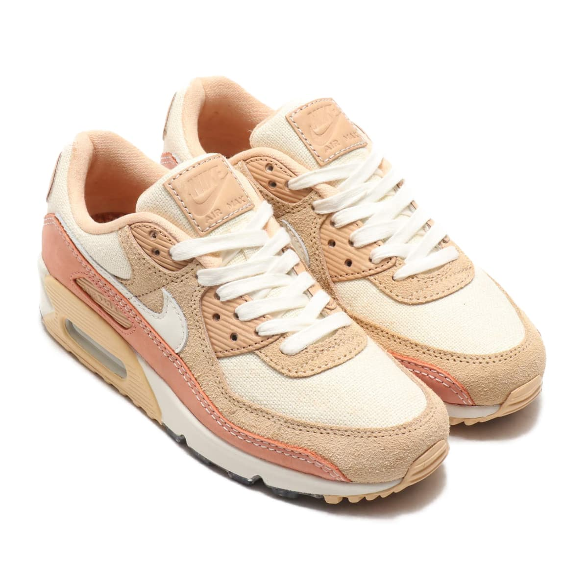 NIKE W AIR MAX 90 WHITE ONYX/SAIL-TERRA BLUSH-VACHETTA TAN 20SU-S_photo_large