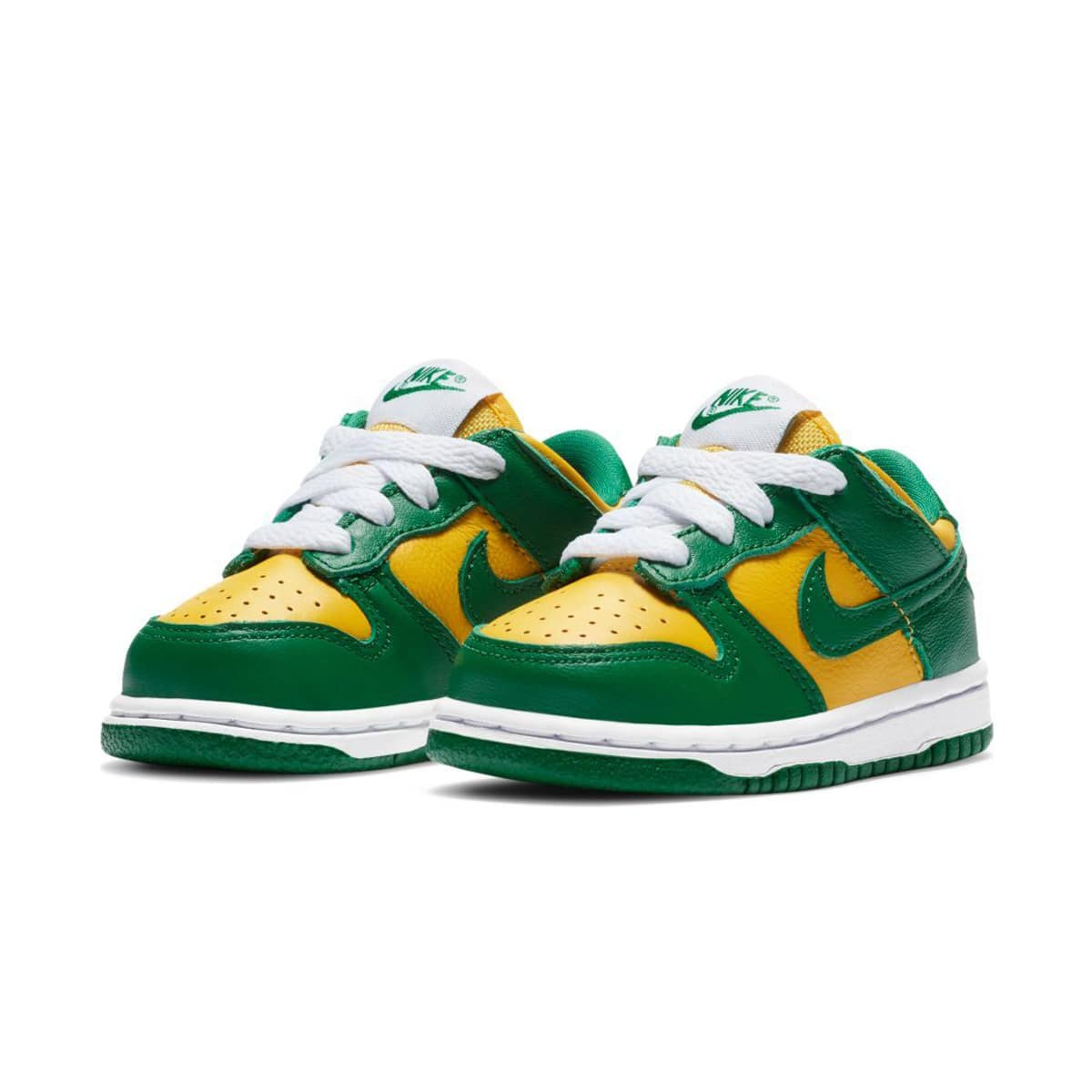 NIKE DUNK LOW SP (TD) VARSITY MAIZE/PINE GREEN-WHITE 20SU-S_photo_large