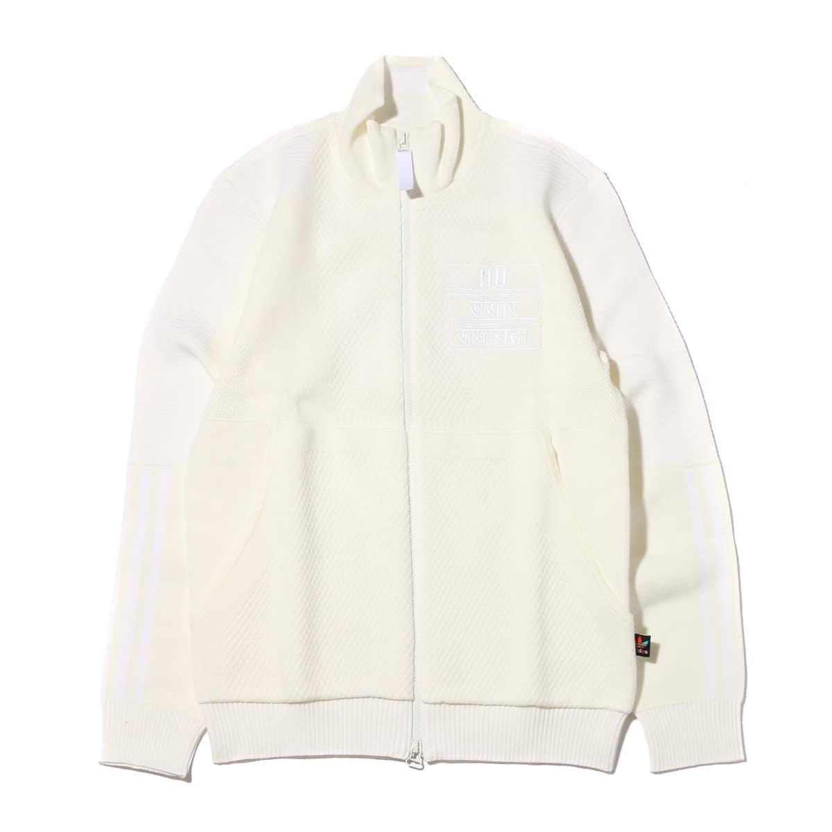 adidas Originals HU HOLI KNIT TRACK TOP  Off White/White_photo_large