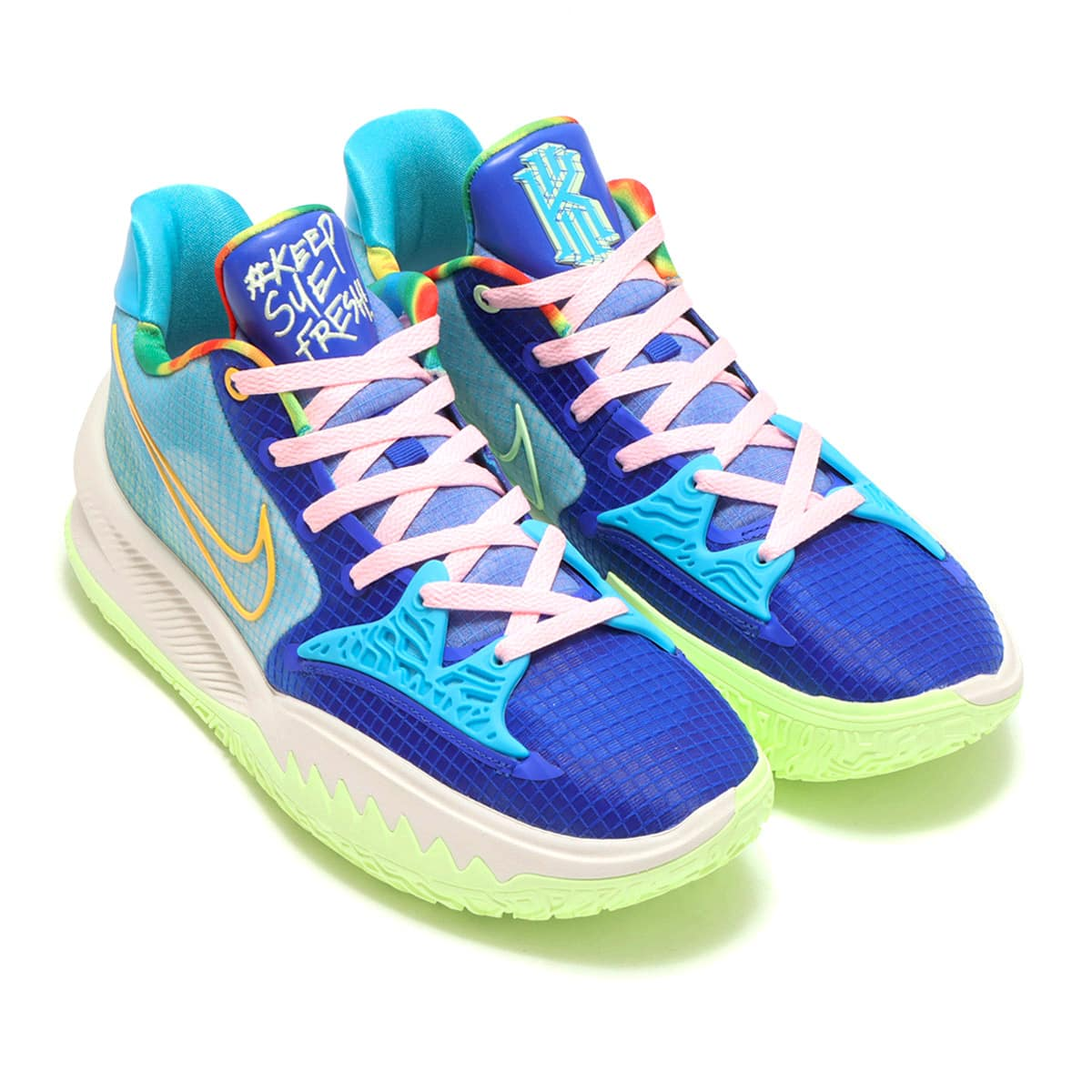 NIKE KYRIE LOW 4 EP RACER BLUE/CHLORINE BLUE-ARCTIC PUNCH 21FA-I_photo_large